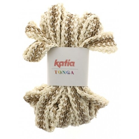 KATIA TONGA 301 BEIGE-CRUDO(100 gr.)