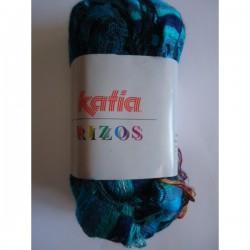 KATIA RIZOS 96 AZULES-VERDES (100 gr.: 1 bufanda)