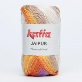 KATIA JAIPUR 203 AMARILLO-BEIGES-LILAS-NARANJA