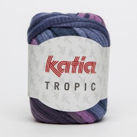 KATIA TROPIC 75 AZULES-FUCSIAS
