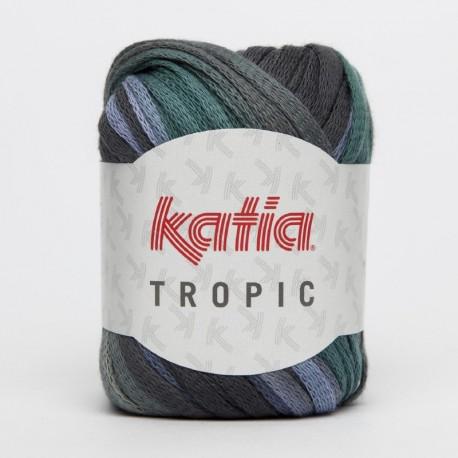 KATIA TROPIC 76 AZULES-VERDE AGUA-GRISES