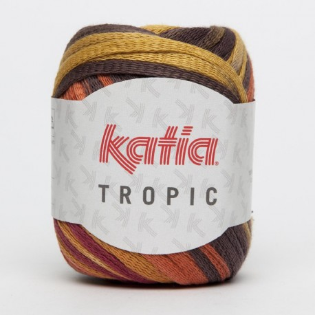 KATIA TROPIC 79 MARRONES-NARANJAS