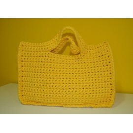 BOLSO BIG RIBBON MOD. 1 AMARILLO