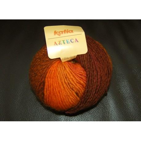 KATIA AZTECA 7810 NARANJAS-CALDERAS (100 gr.)