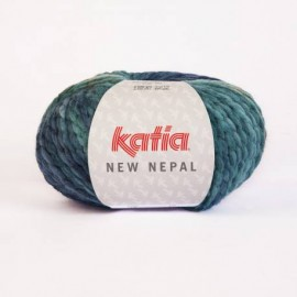 KATIA NEW NEPAL 208 AZULES-BEIGES-GRISES (100 gr.)