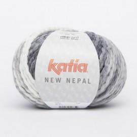 KATIA NEW NEPAL 209 GRISES-NEGRO (100 gr.)
