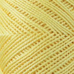 CARICIA PERLE Nº 5 ALGODON EGIPCIO 101 AMARILLO (75 GR.)