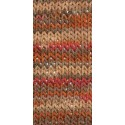 KATIA COTTON CORD PRINT 100 MARRONES-NARANJAS (100 gr.)