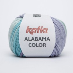 KATIA ALABAMA COLOR 105 LILA-TURQUESA-VERDE