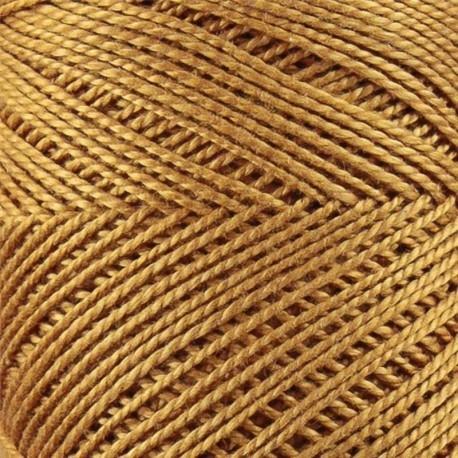 CARICIA PERLE Nº 5 DE ALGODON EGIPCIO 503 BEIGE DORADO (75 GR.)