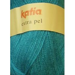 KATIA EXTRA PEL 64333 AZUL TURQUESA (100 gr.)