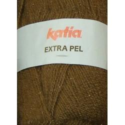 KATIA EXTRA PEL 64340 MARRON TABACO (100 gr.)